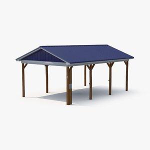 3d max pavilion rest