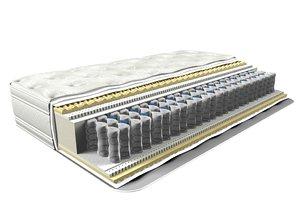 mattress c4d