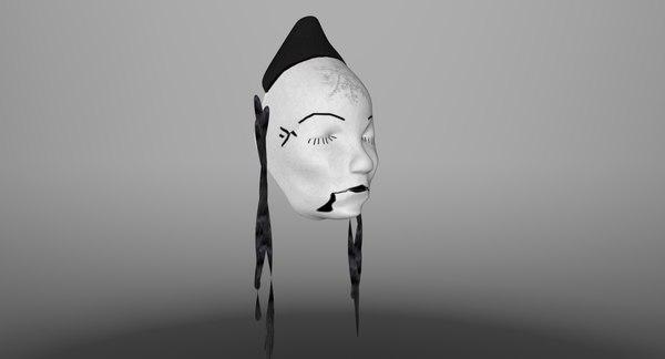faces masks 3d model