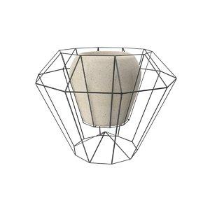 3d model vase wire