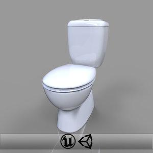 obj toilet engine unreal