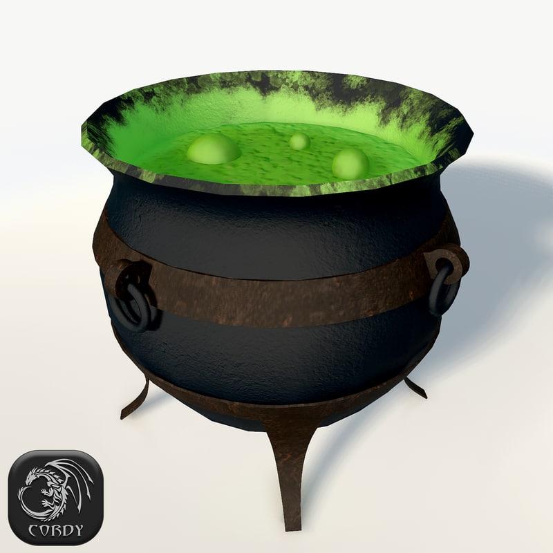 magic witch cauldron max