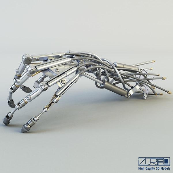 3d robotic hand