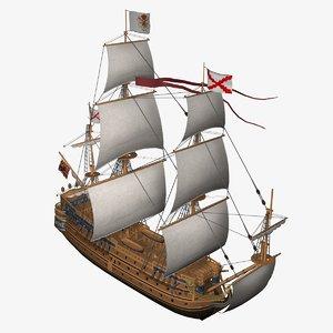 galleon san felipe 3ds