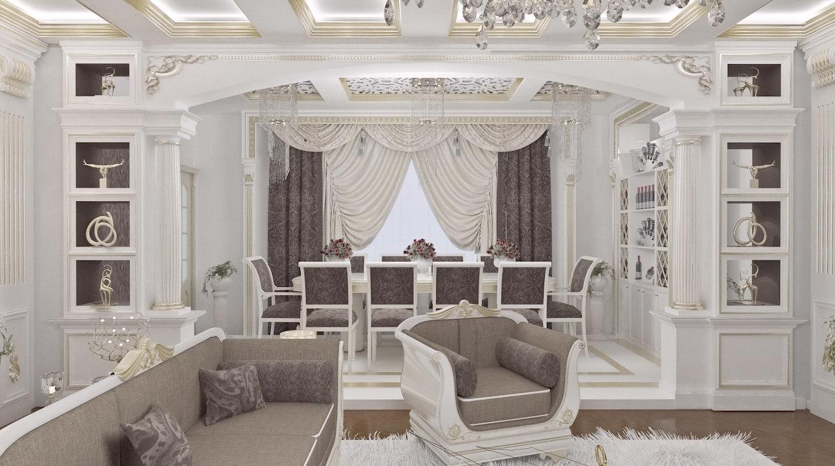realistic living room 3d obj