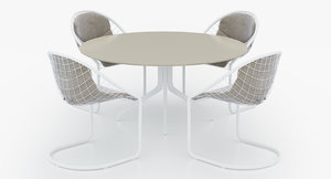 3d outdoor table - claydone