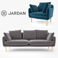 Jardan Andy Sofa and Armchair