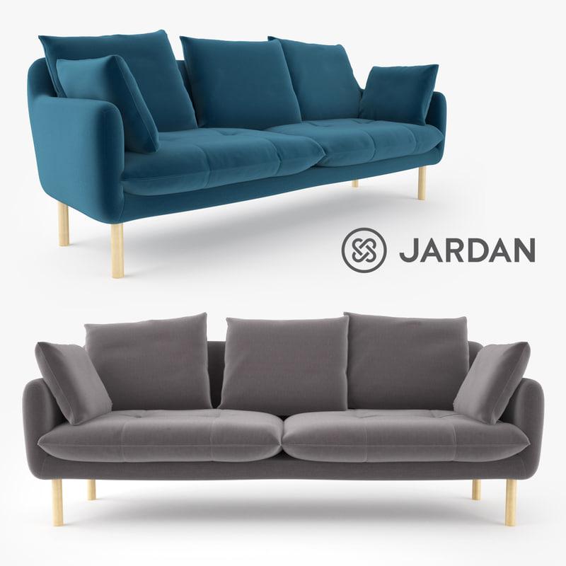3d model jardan andy sofa interior