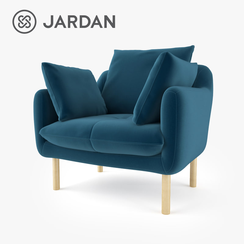 3d jardan andy armchair