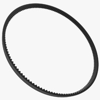 serpentine belt 3d model
