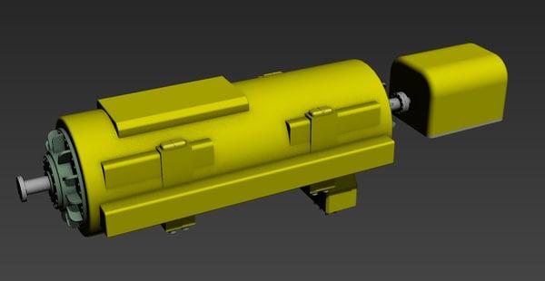 3d phase generator model