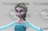 Elsa_3D_Model