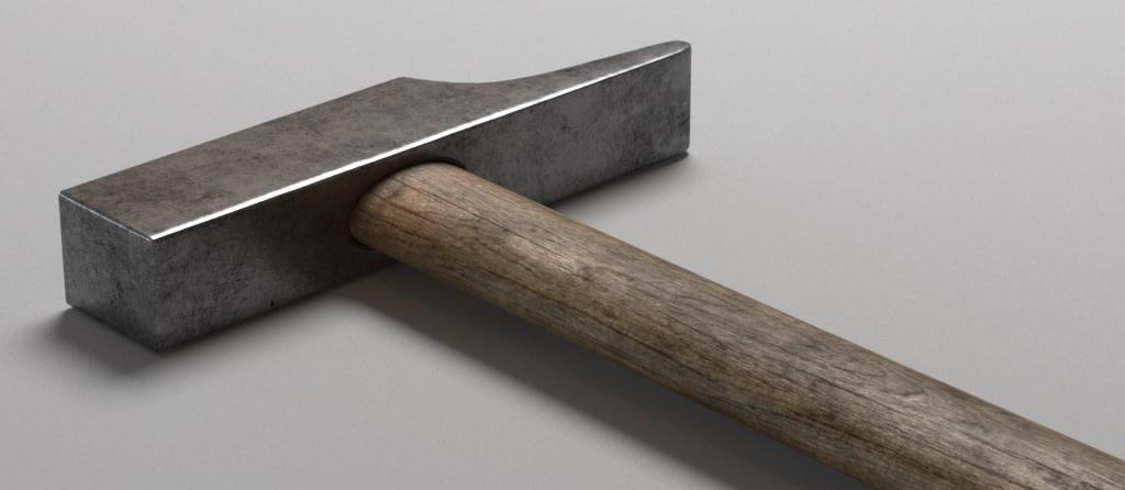 old hammer 3d max
