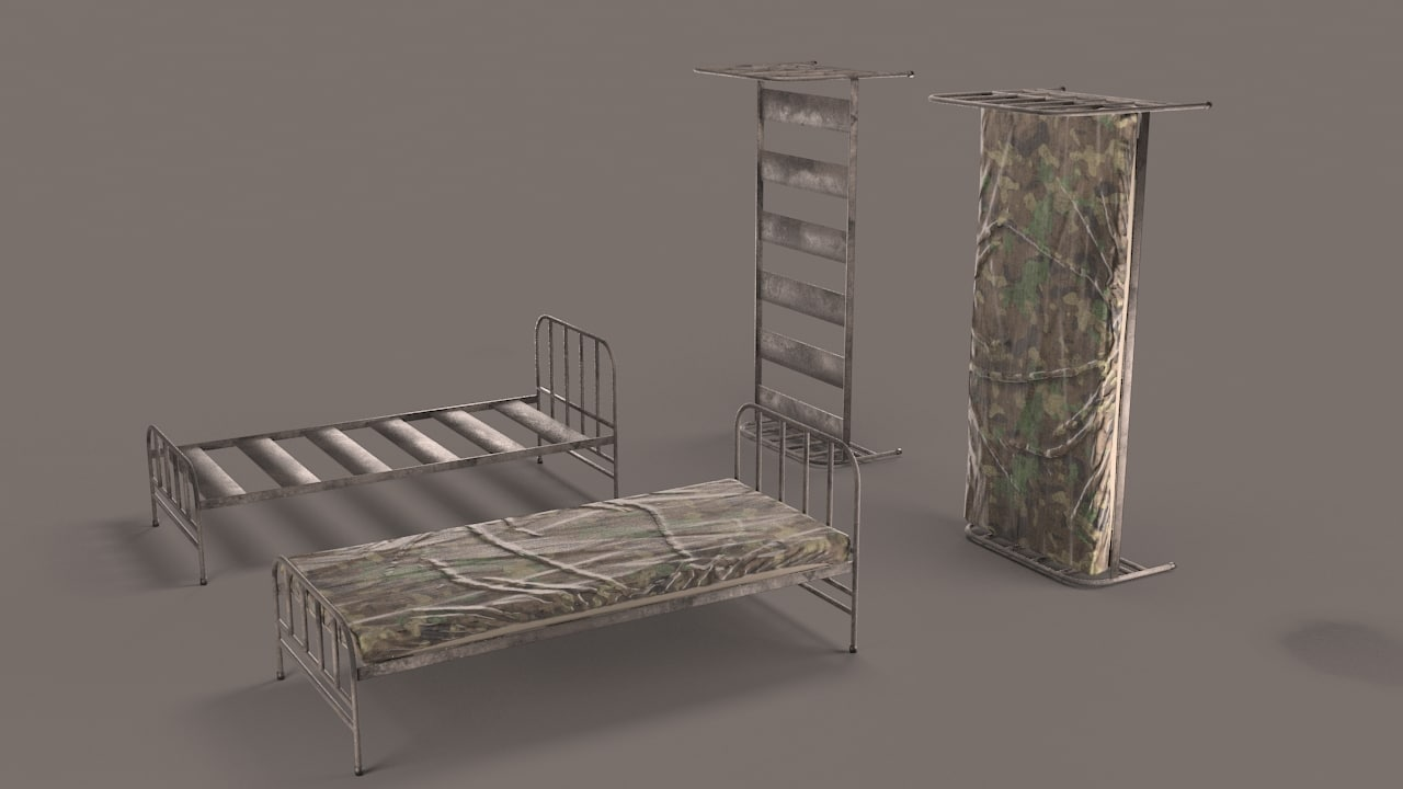military bed max