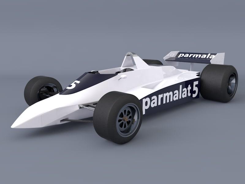 3d model of f1 cars