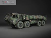 Hemtt M978 Oshkosh Military Fuel Truck
