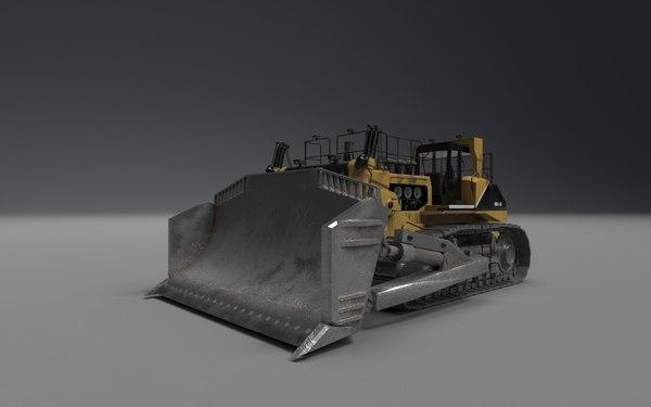 komatsu d575a 3d model