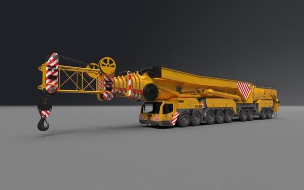 3d liebherr ltm 11200 model
