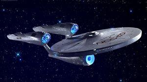 star trek enterprise 3d max
