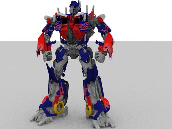 max robot transformers optimus prime