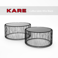 3d wire coffee tables kare model