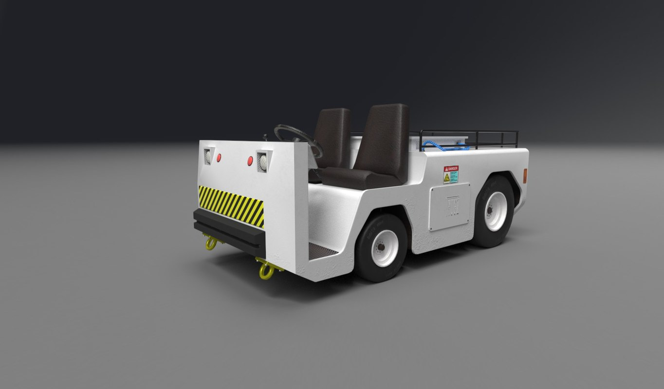 3d tug mz tow tractor