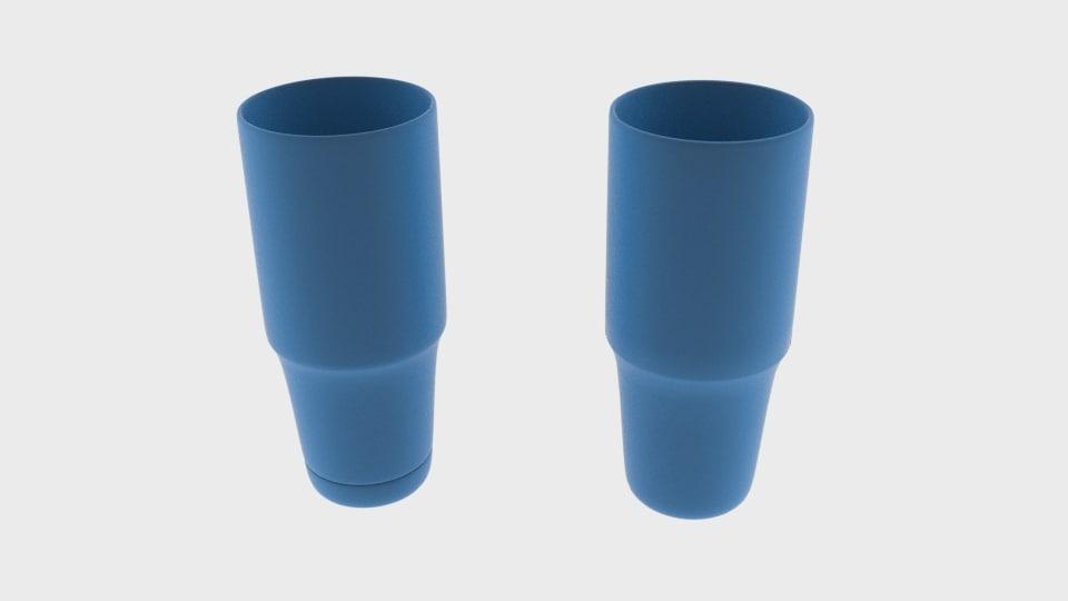 3d obj glass g
