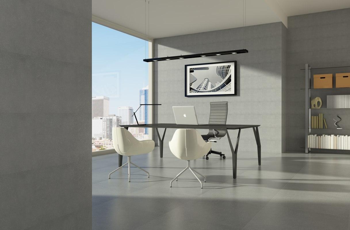 office sun 3d model