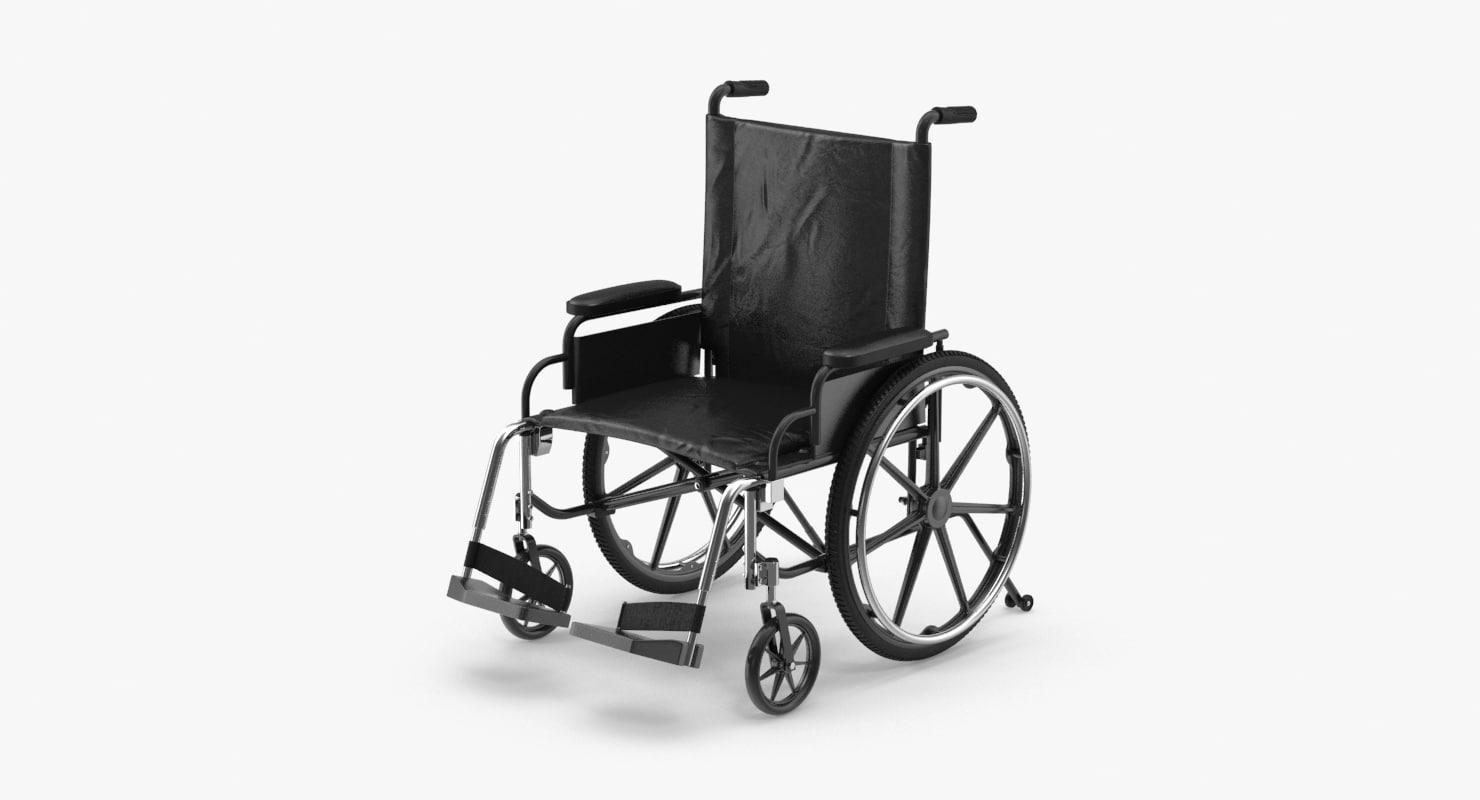 3d model wheelchair wheel chair