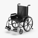 wheelchair 3D models