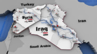 3d iraq syria middle east model