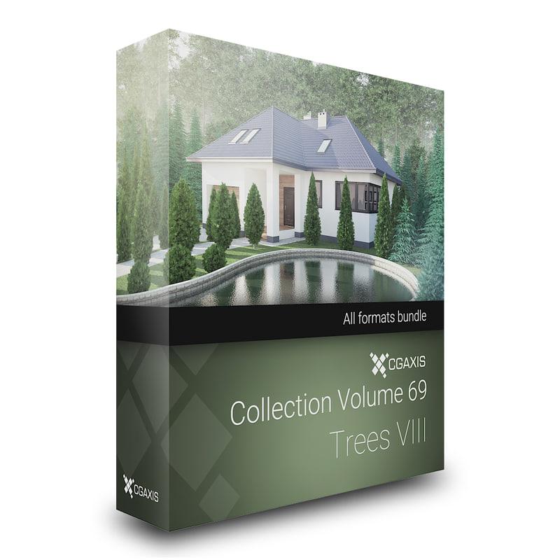 3d volume 69 trees viii model