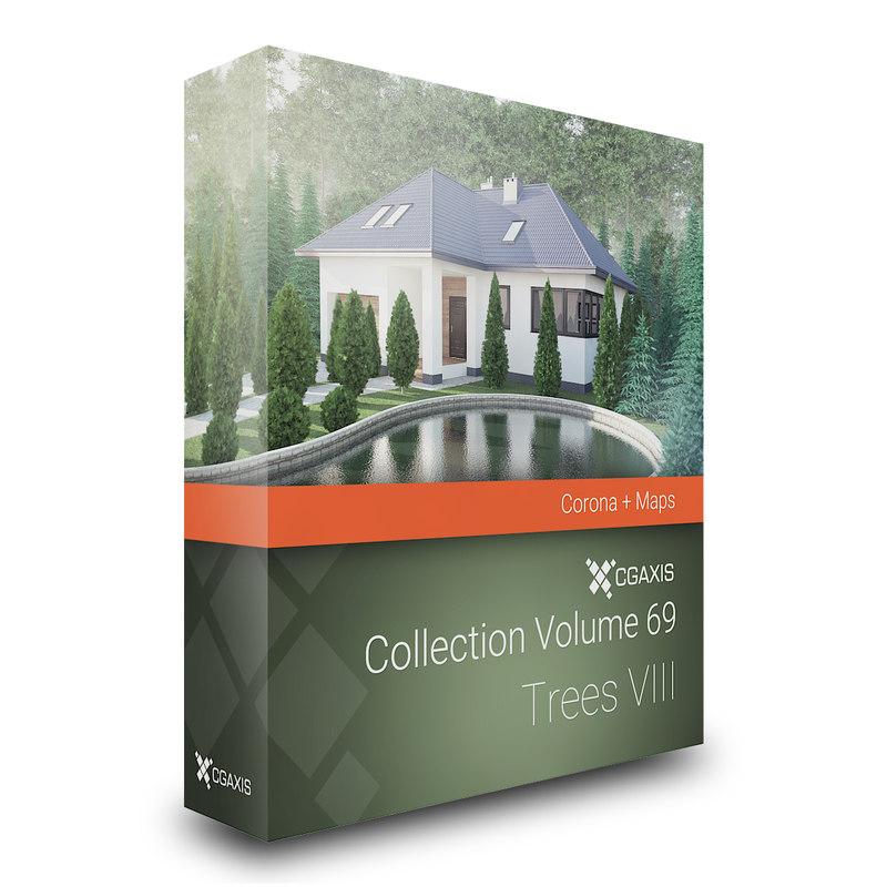 3d model volume 69 trees viii