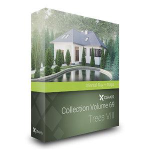 volume 69 trees viii 3d max