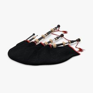 3d model bagpipes