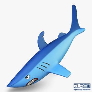 3d shark v 1 model