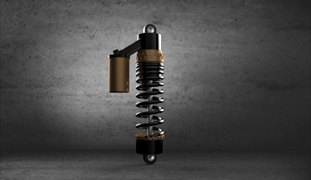 3d model suspension
