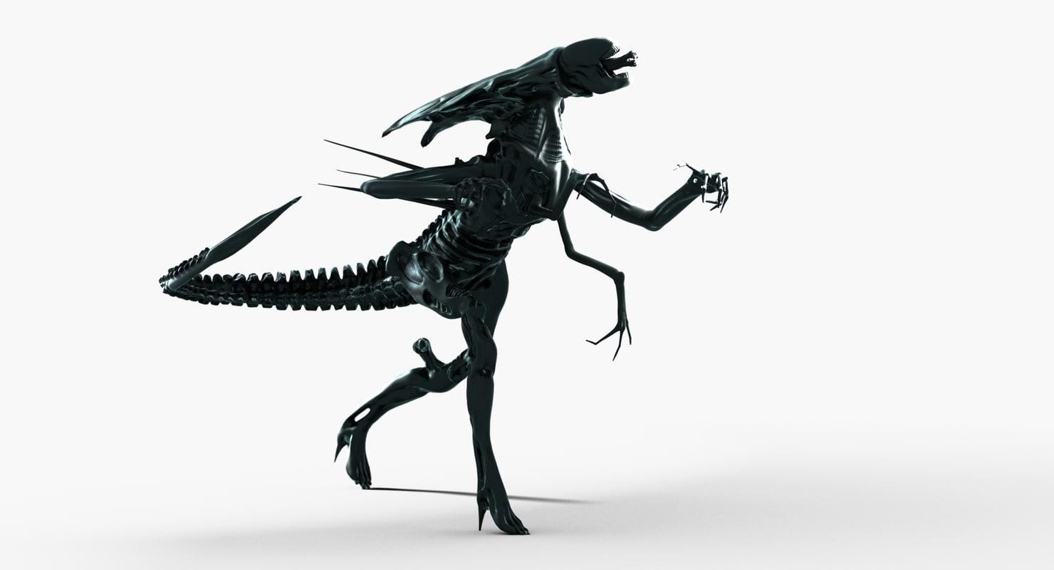 alien queen max