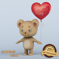 3d bear animation