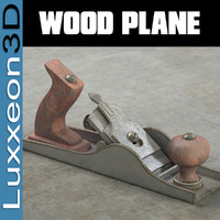 3d wood plane