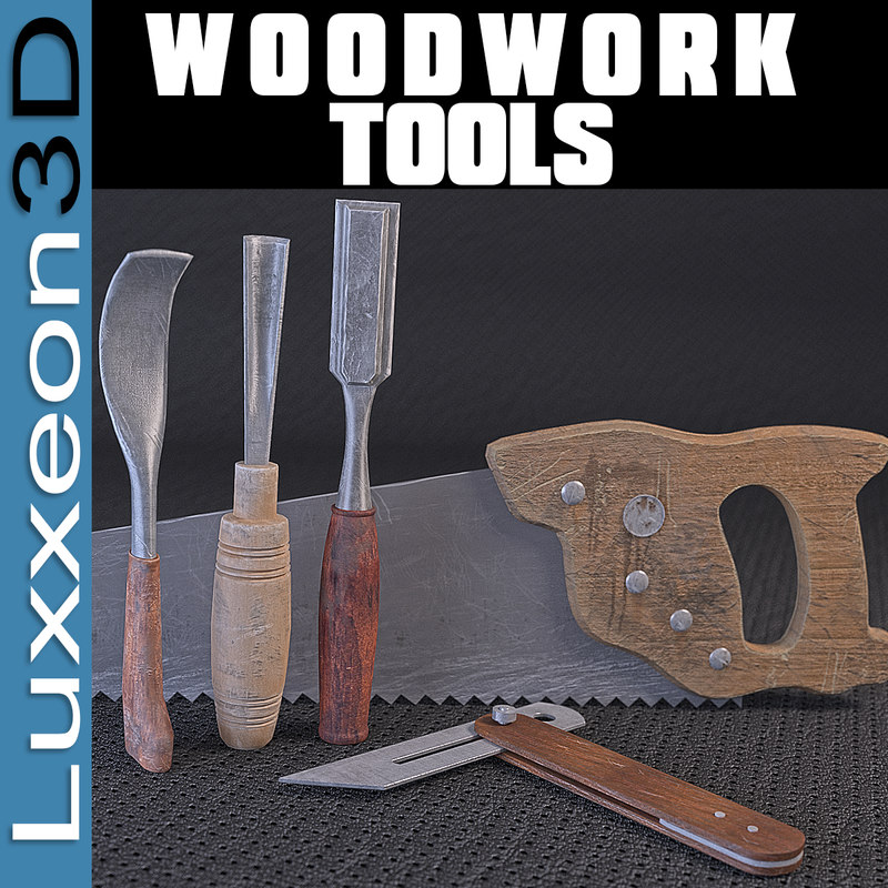 3d tools woodworkers wood work