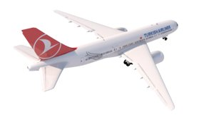 3d a-777 turkish airlines