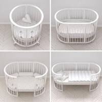 3d stokke cribs versions model