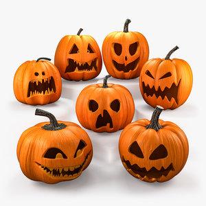 halloween pumpkins set 3ds