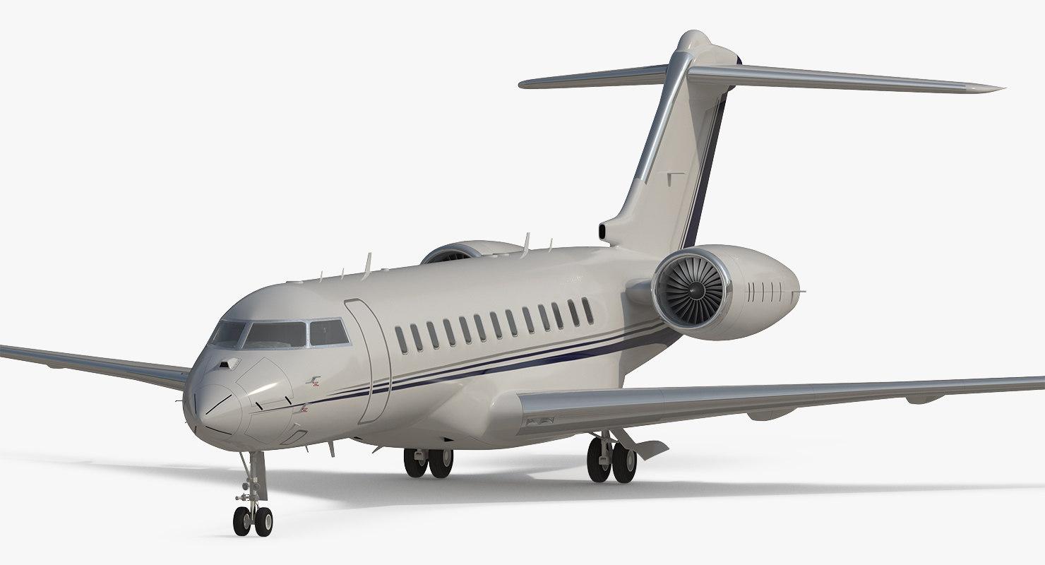 3d max global 6000 jet