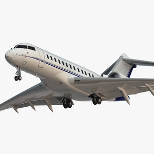 global 6000 jet rigged max