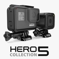 1 gopro hero 5 3d model