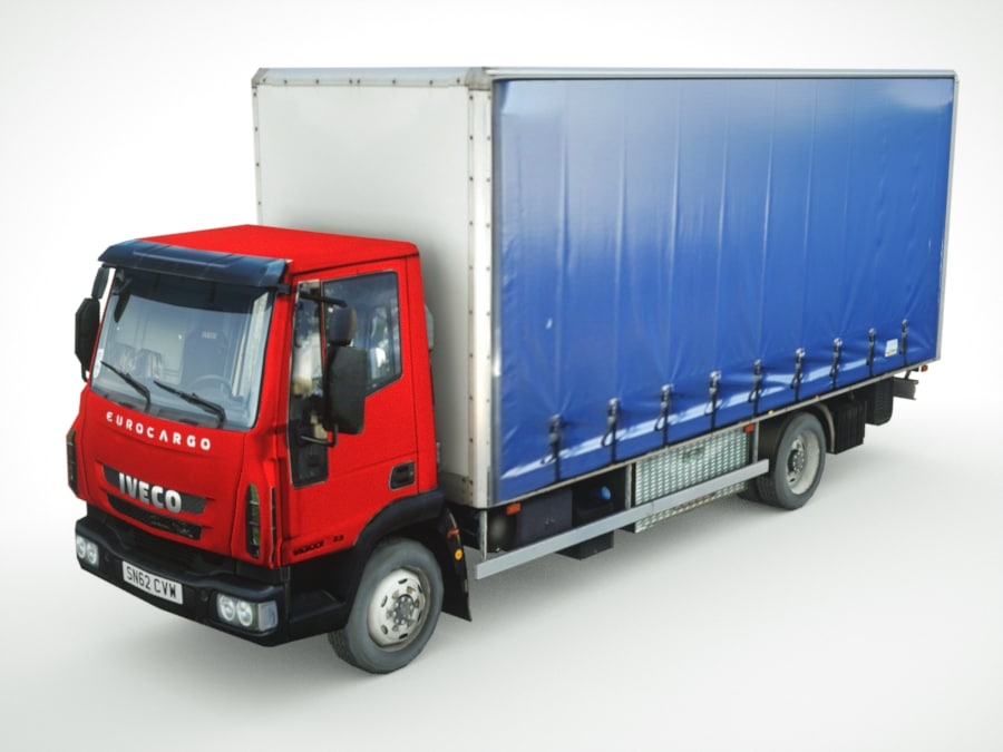 3ds iveco eurocargo cargo tented