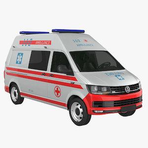 t6 ambulance 3d 3ds