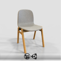 3d model chair interior engine